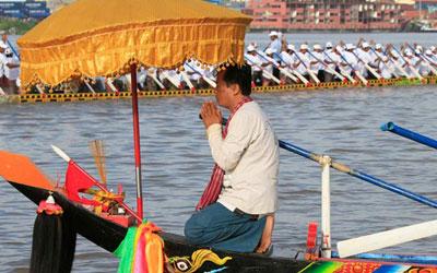 เทศกาลน้ำของประเทศกัมพู